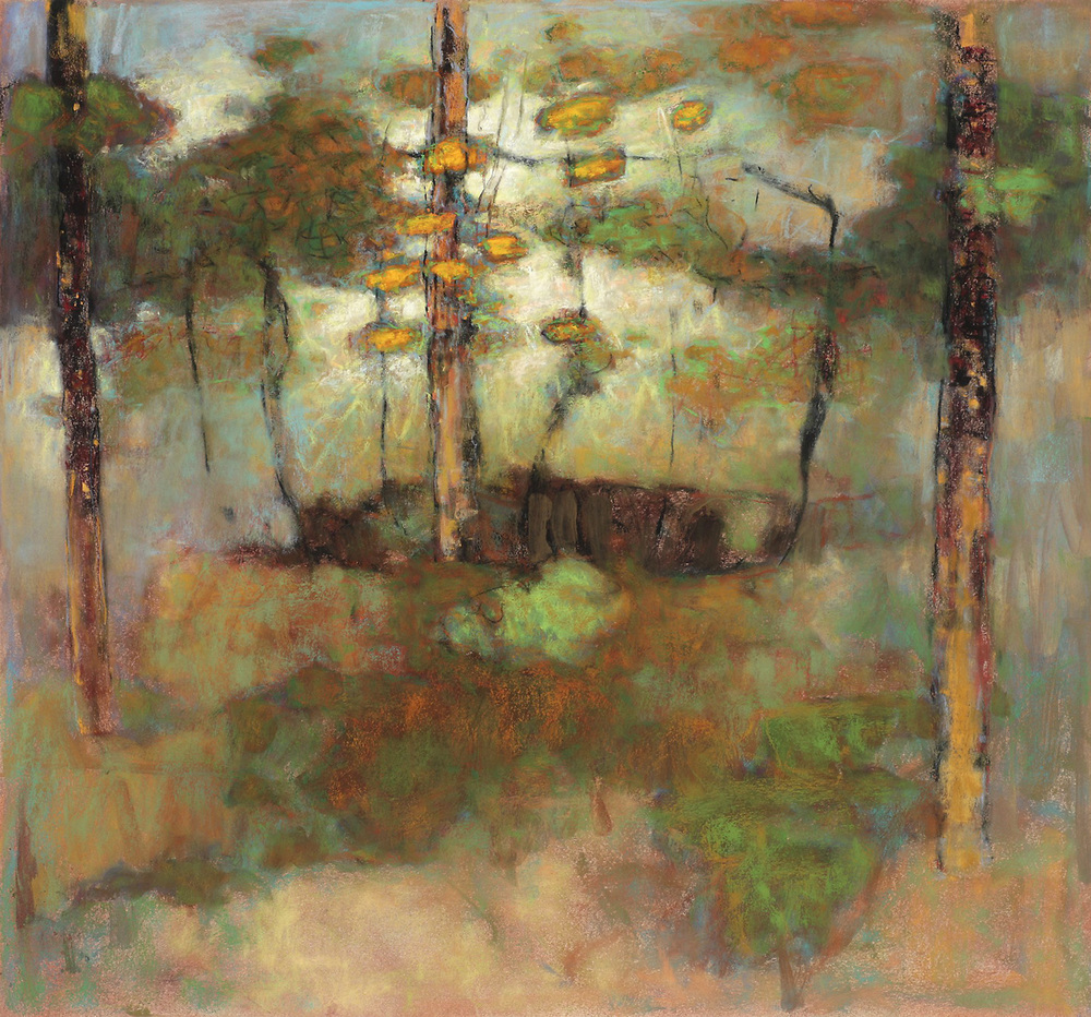 Return | pastel on paper | 30 x 30"