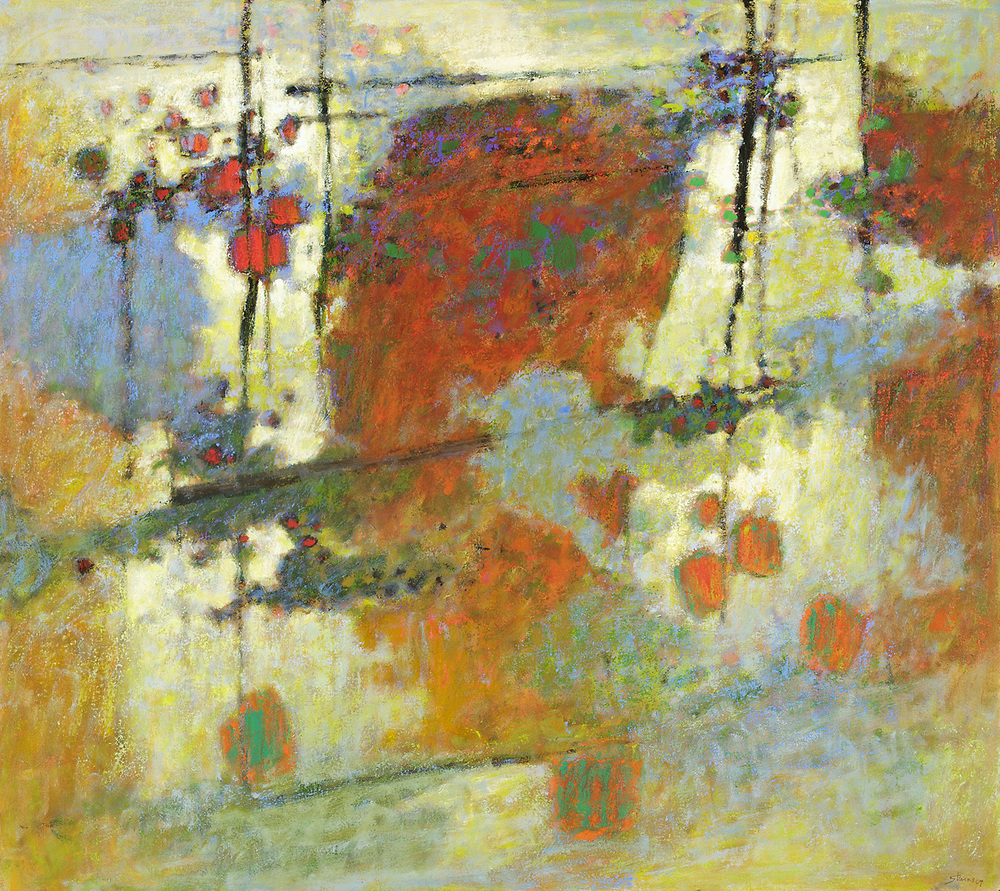 Close to Home   | oil on canvas | 48 x 54"