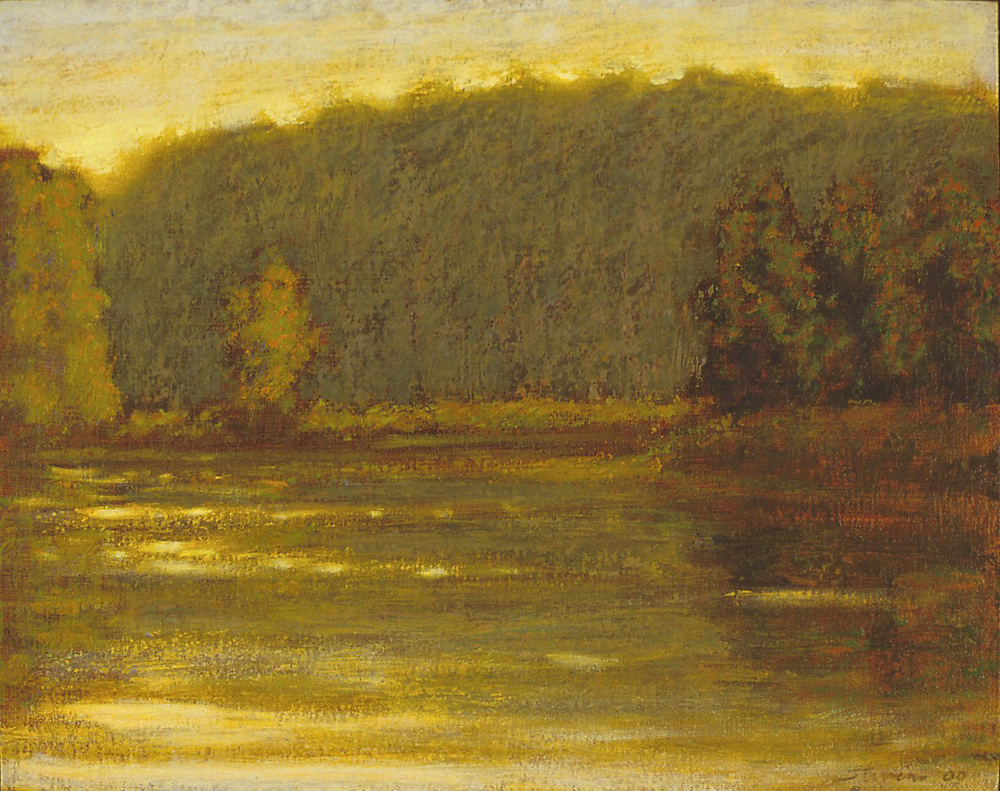 Big Manistee River   | oil | 12 x 15"