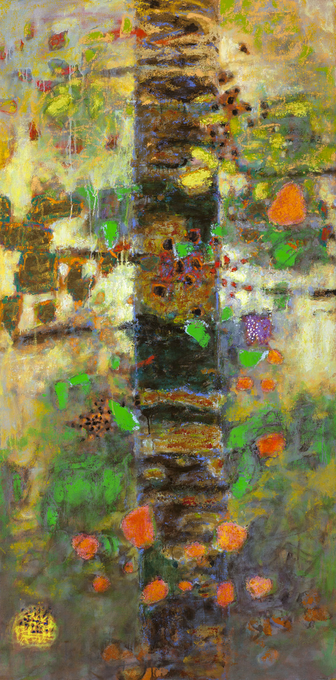 Organic Revelation   | oil on canvas | 72 x 36"
