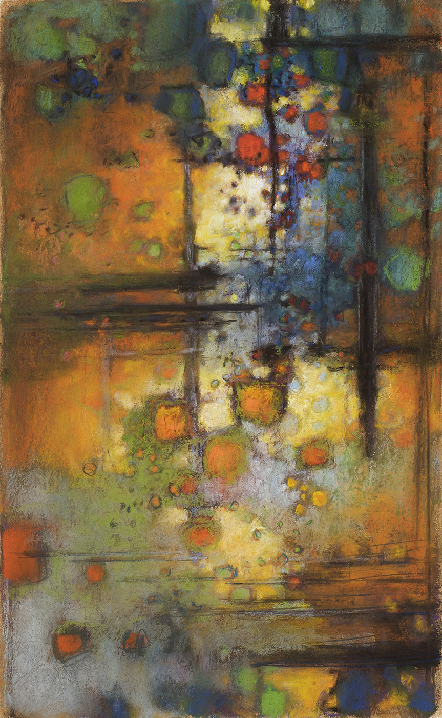 "114-09   |pastel on paper | 17 x 11"" | 2009"