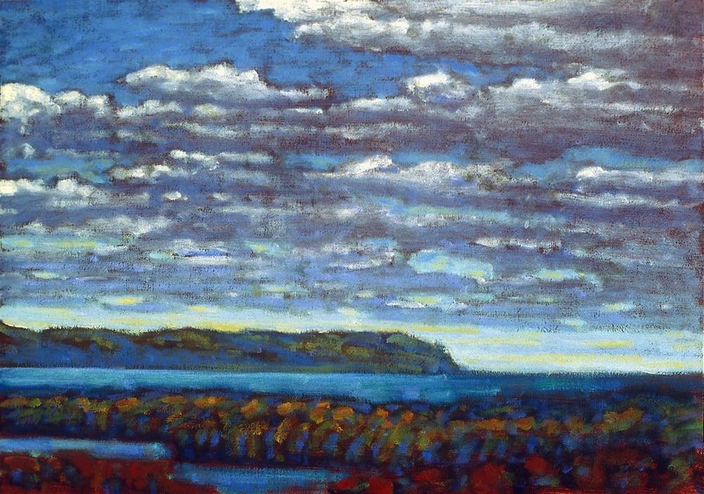 "89-96   | oil on canvas | 12 x 15"" | 1996"