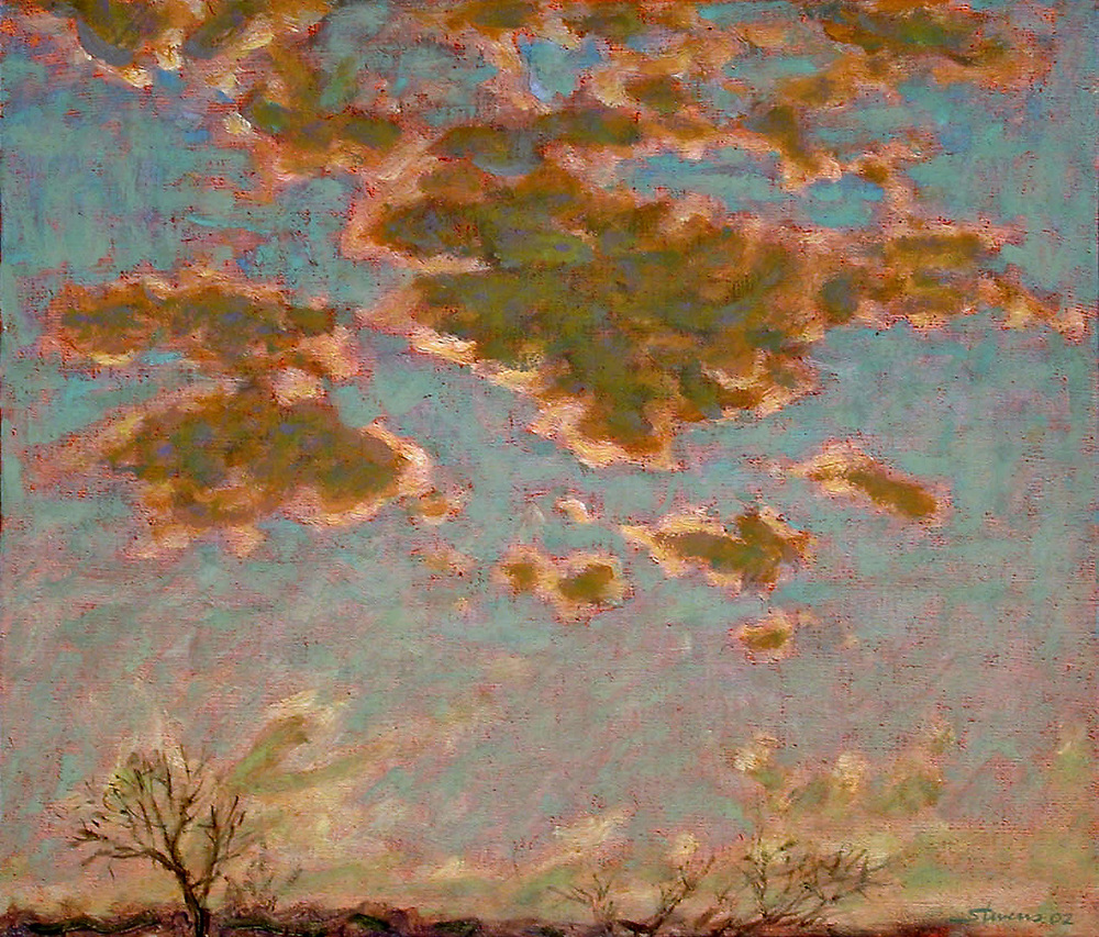 Above   | oil on canvas | 12 x 14"