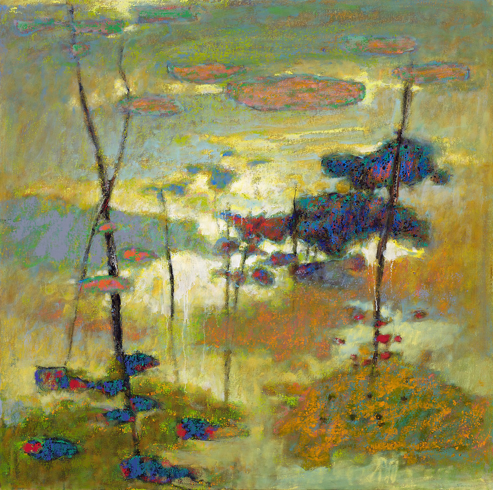 "Faraway | oil on canvas | 48 x 48"" | 2011"