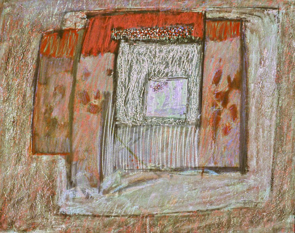 "Passageways of Return   | mixed media | 17 x 22"" | 1984"
