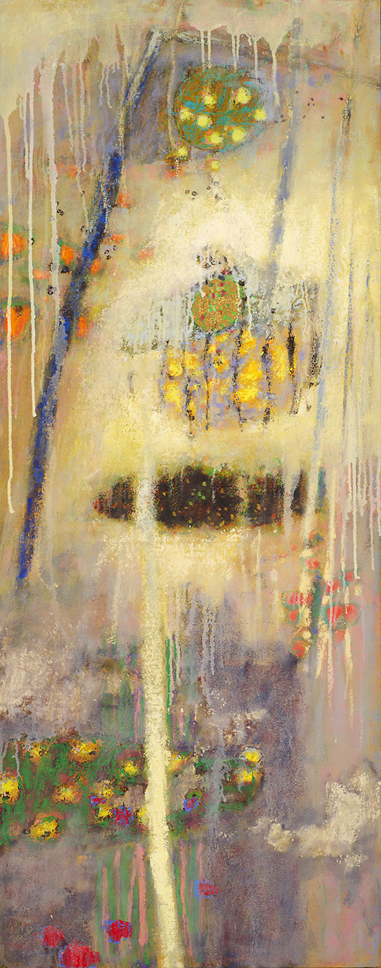Inner Places   | oil on canvas | 48 x 19"