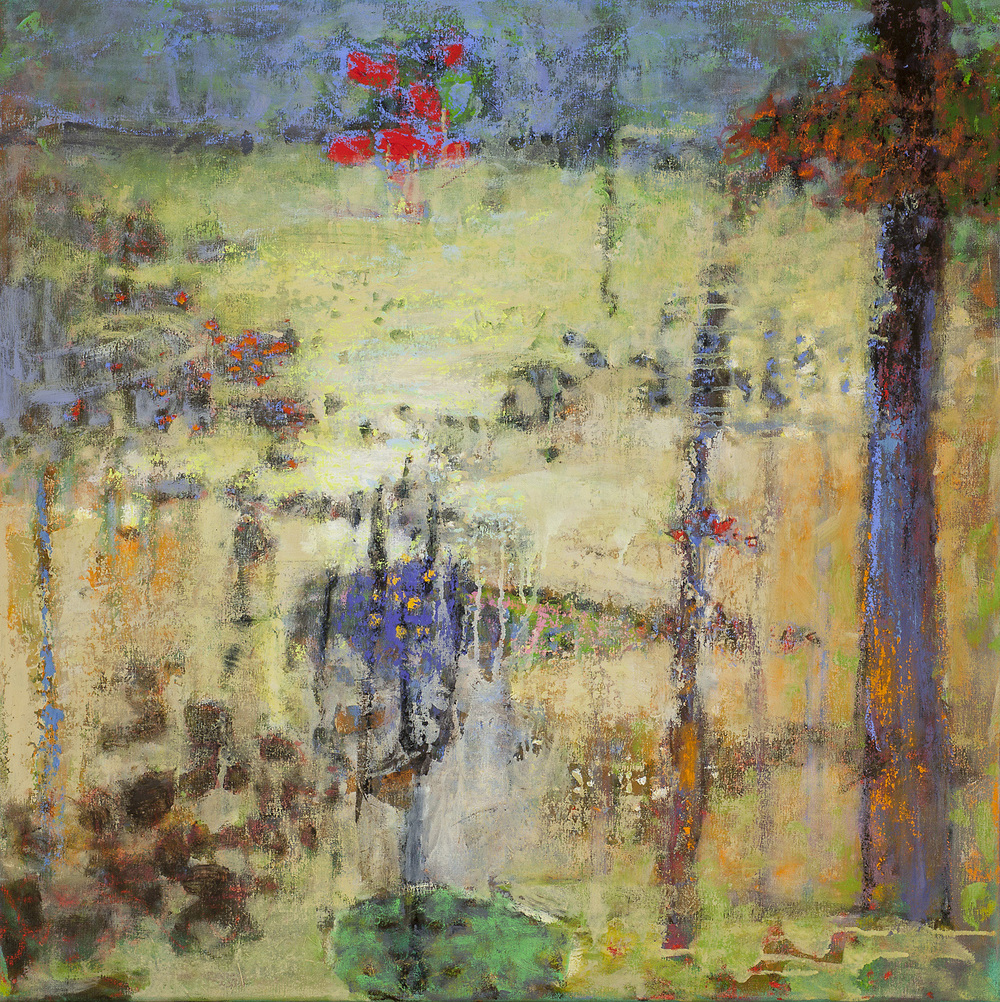 Traveler's Rest   | oil on canvas | 32 x 32"