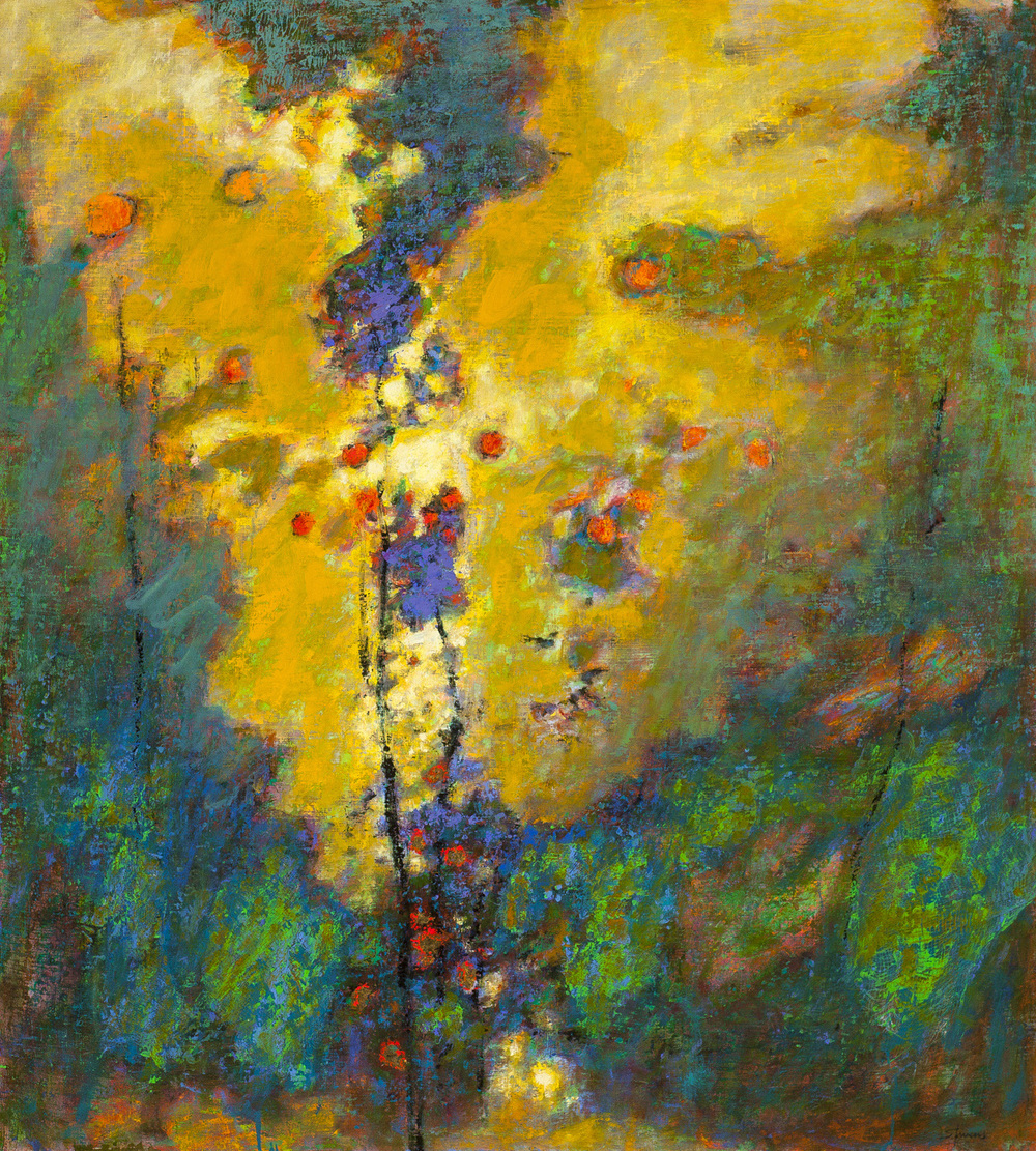 Spirit Gathering   | oil on linen | 40 x 36"