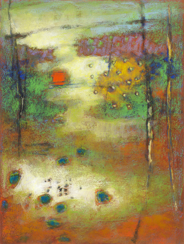 "89-13   | pastel on paper | 16 x 12"" | 2013"
