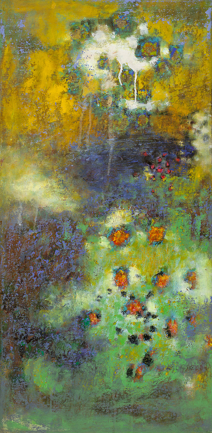 Retreat From Reality   | oil on canvas | 32 x 16"