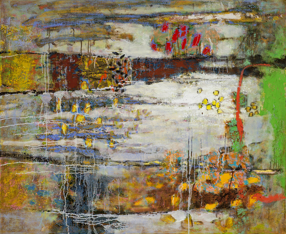 On This Planet   | oil on canvas | 36 x 44"