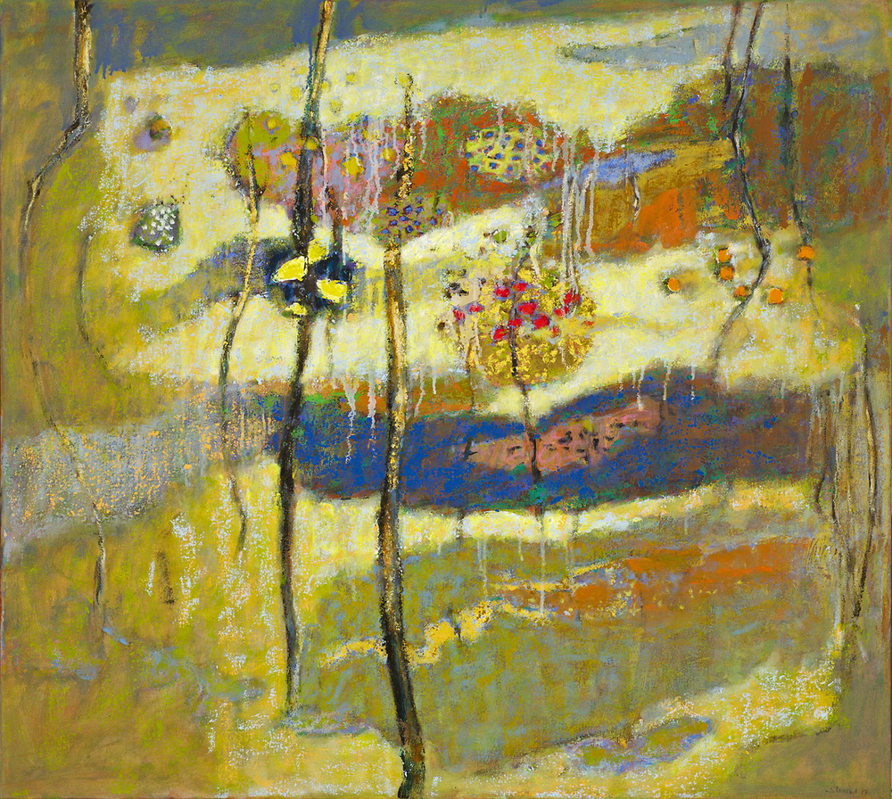 Overview   | oil on canvas | 36 x 40"