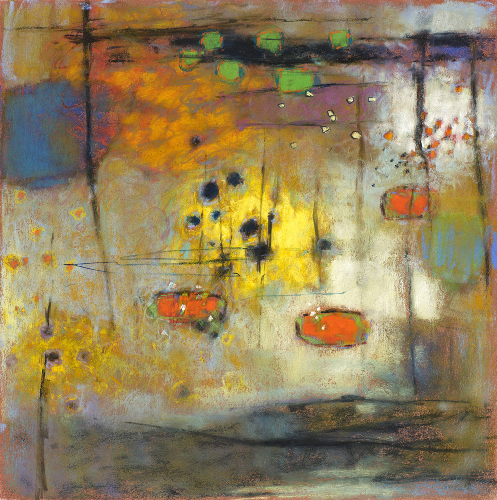 "12 -12   | pastel on paper | 14 x 14"" | 2012"