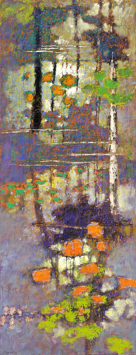 Emerging Solitude   | oil on canvas | 48 x 19"