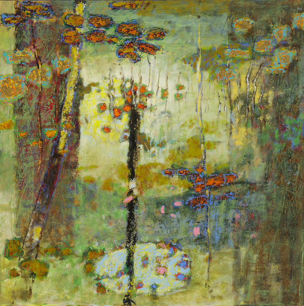 Web of Relationships   | oil on canvas | 32 x 32"