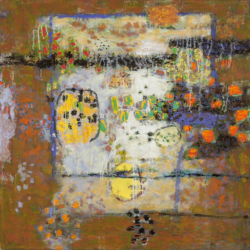 Tune In   | oil on canvas | 36 x 36"