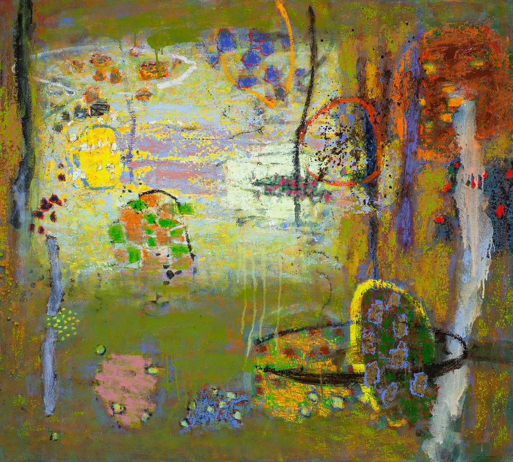 Holistic Frequency   | oil on canvas | 36 x 40"
