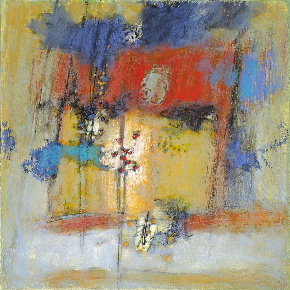 Abode of Insight   | pastel on paper | 14 x 14"