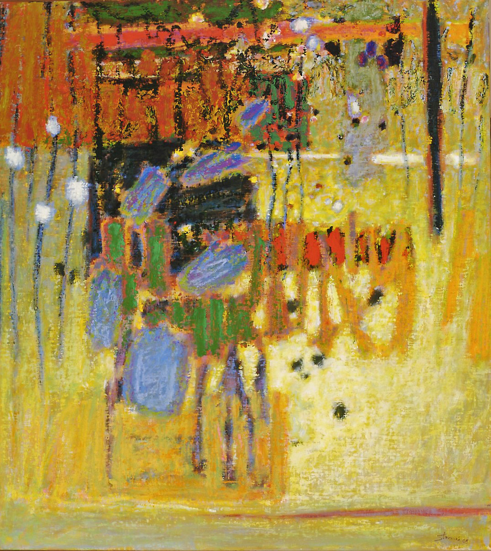 Rhythmic Cycles   | oil on linen | 40 x 36"