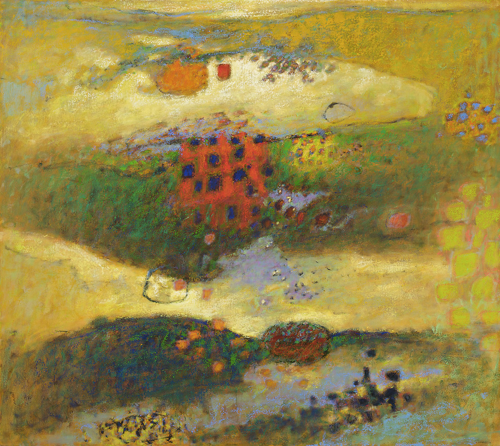 Between Worlds | oil on canvas | 42 x 54"