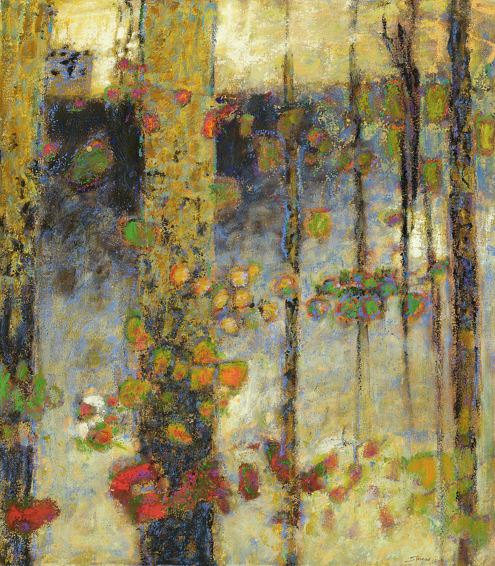 A Place in the Wilderness II   | oil on canvas | 32 x 28"
