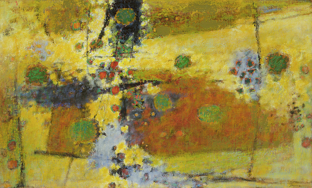 Under the August Sun | oil on canvas | 30 x 50"