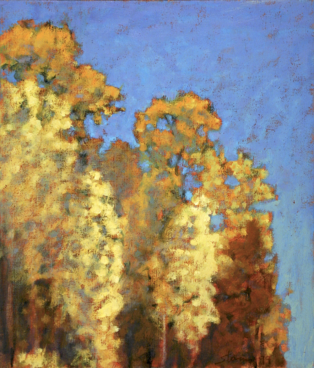 Autumn Contrast   | oil on panel | 14 x 12"