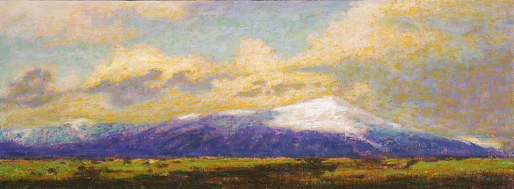 Sangro De Christo   | oil on canvas | 16 x 43"