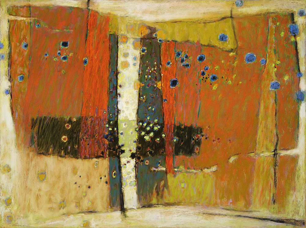 "Divine Convergence | pastel on paper | 24 x 30"" | 2007"