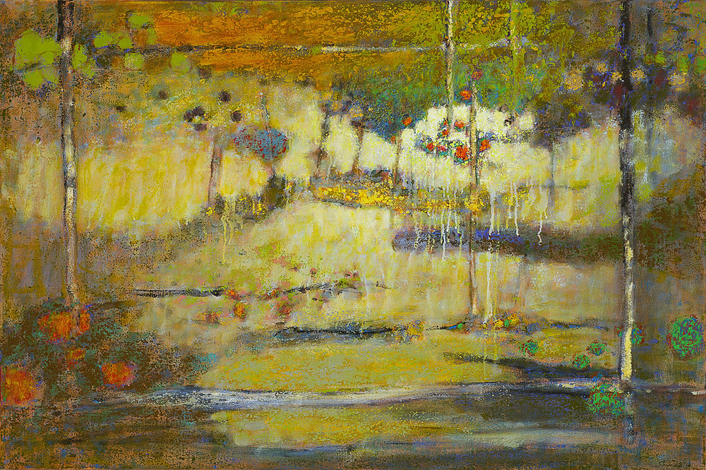 Sun Showers   | oil on canvas | 32 x 48"