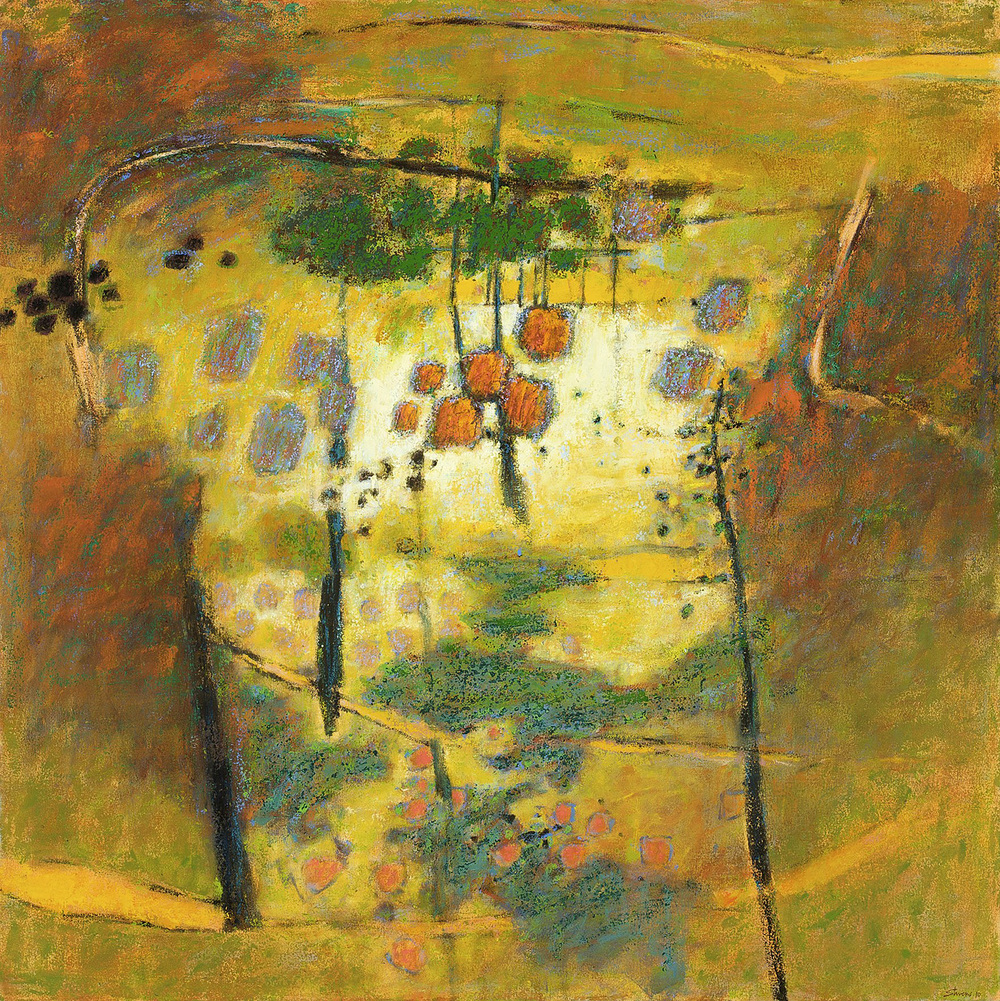 Something From the Heart   | oil on canvas | 48 x 48"