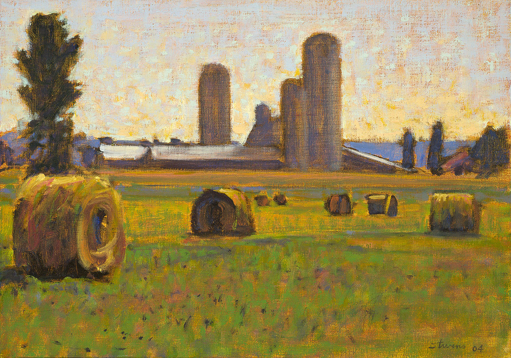 South of Interlochen  | oil on linen | 12 x 17"