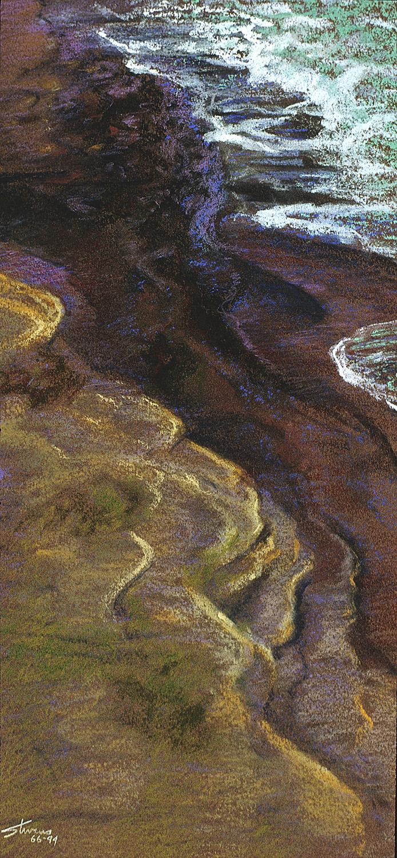 56-94   | pastel on paper | 13 x 6 | 1994