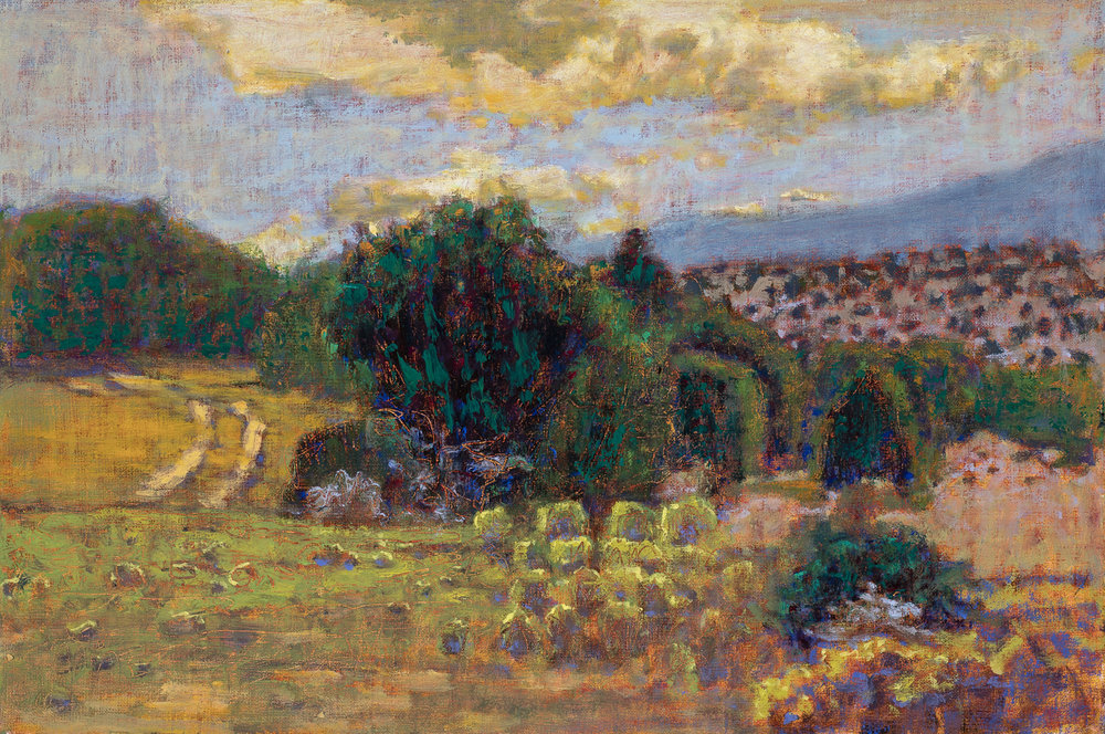 View From Irby's Arroyo | oil on linen | 12 x 18"