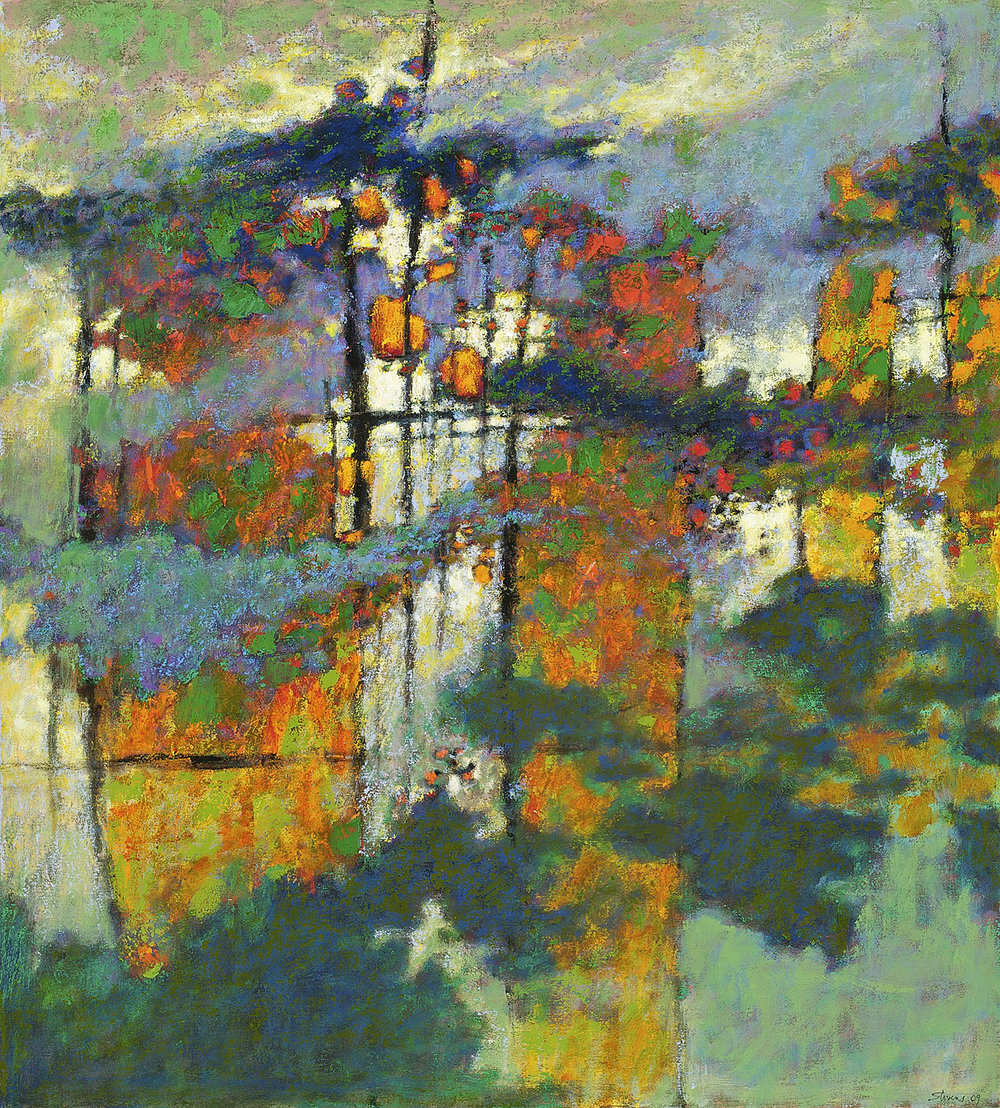 The Spaces Between Us   | oil on canvas | 40 x 36"