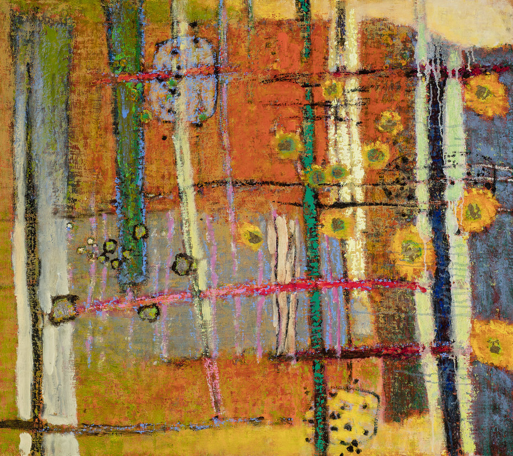 Domain of the Mystics   | oil on canvas | 32 x 36"