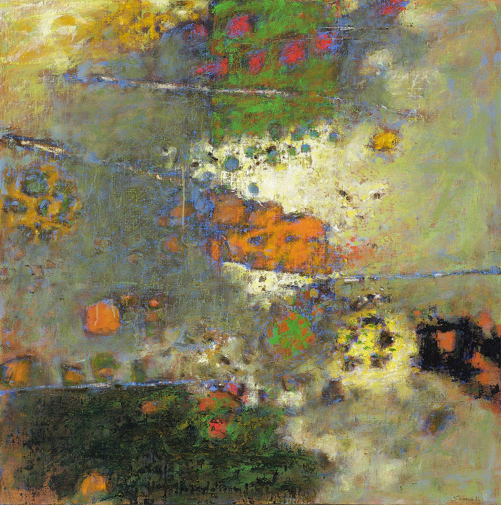 Simple Complexity   | oil on canvas | 32 x 32"