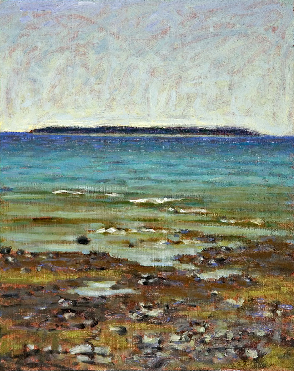 Whiskey Island   | oil on panel | 15 x 12"