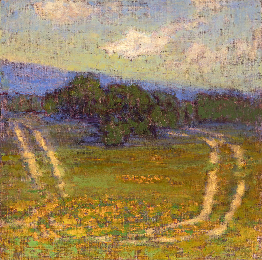 Off Road | oil on linen | 12 x 12"