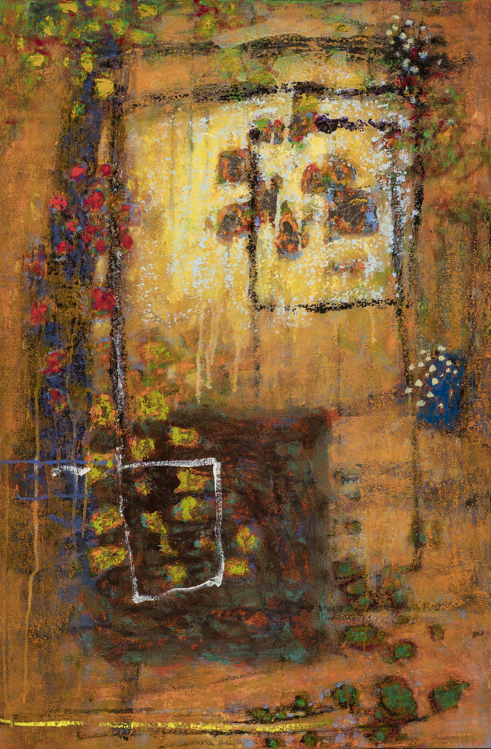 Light and Ground   | oil on canvas | 30 x 20"