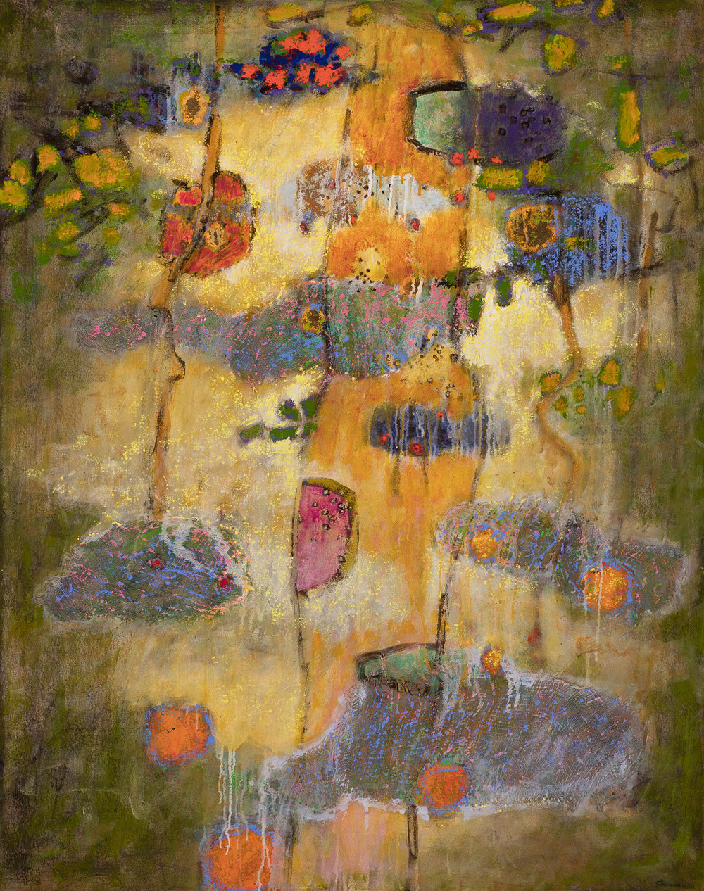 Deepening Entwinement   | oil on canvas | 48 x 38"