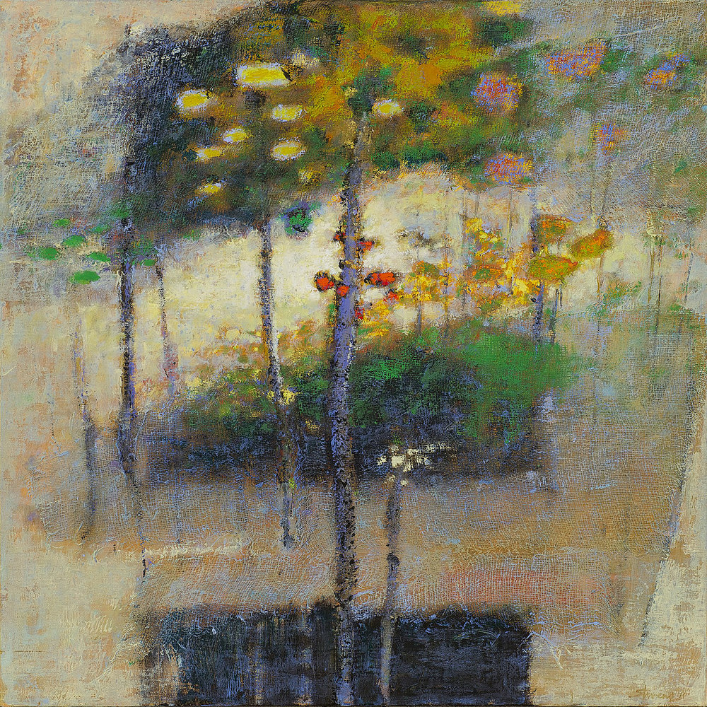 One Goes There Alone   | oil on canvas | 24 x 24"