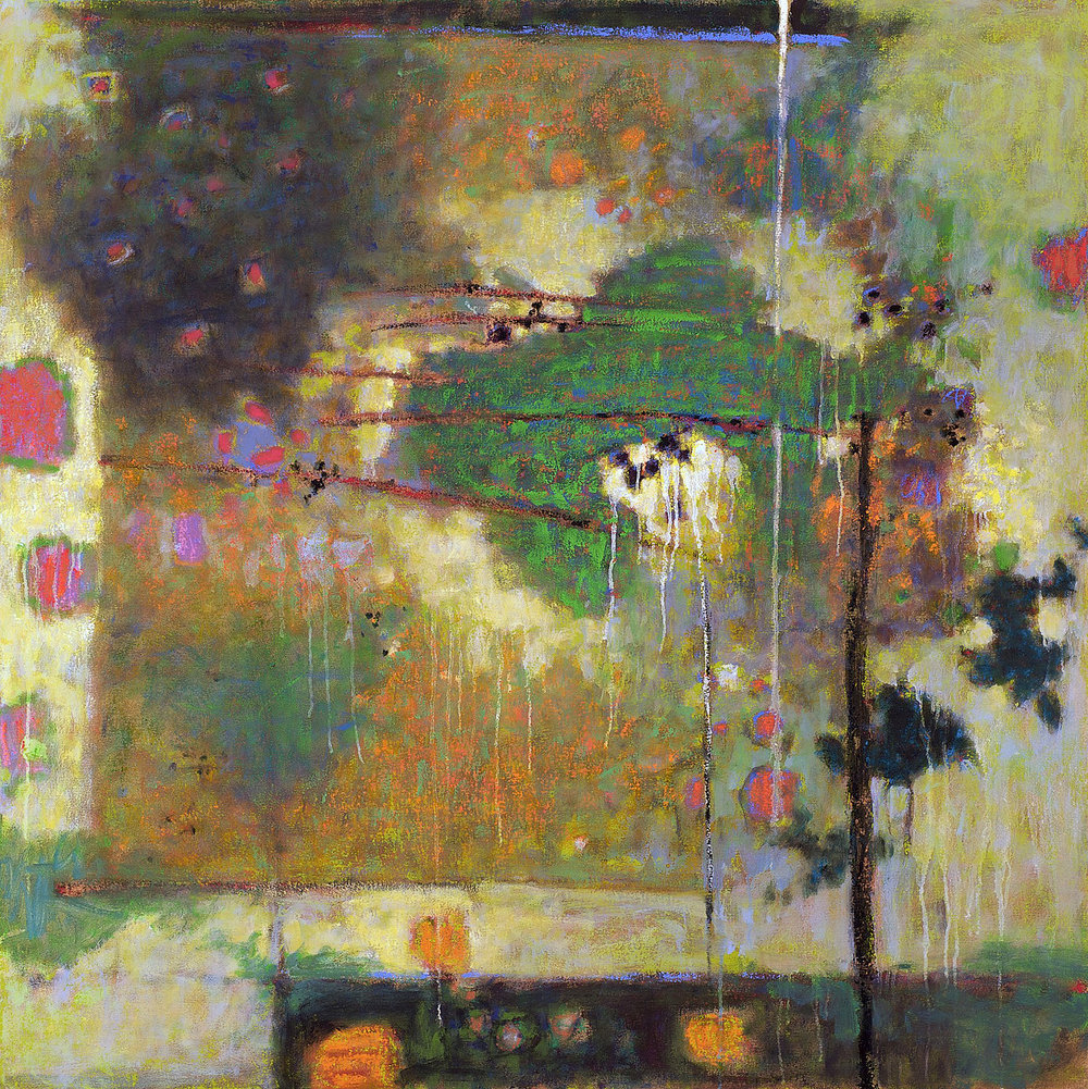 Constant Unfolding   | oil on canvas | 48 x 48"