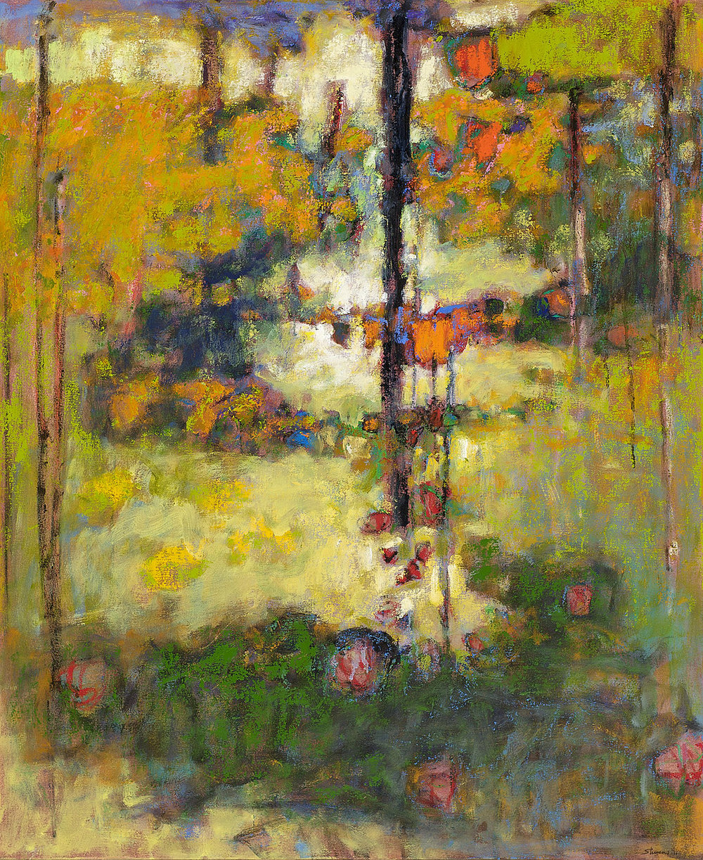 Shaping the Unknown   | oil on canvas | 44 x 36"
