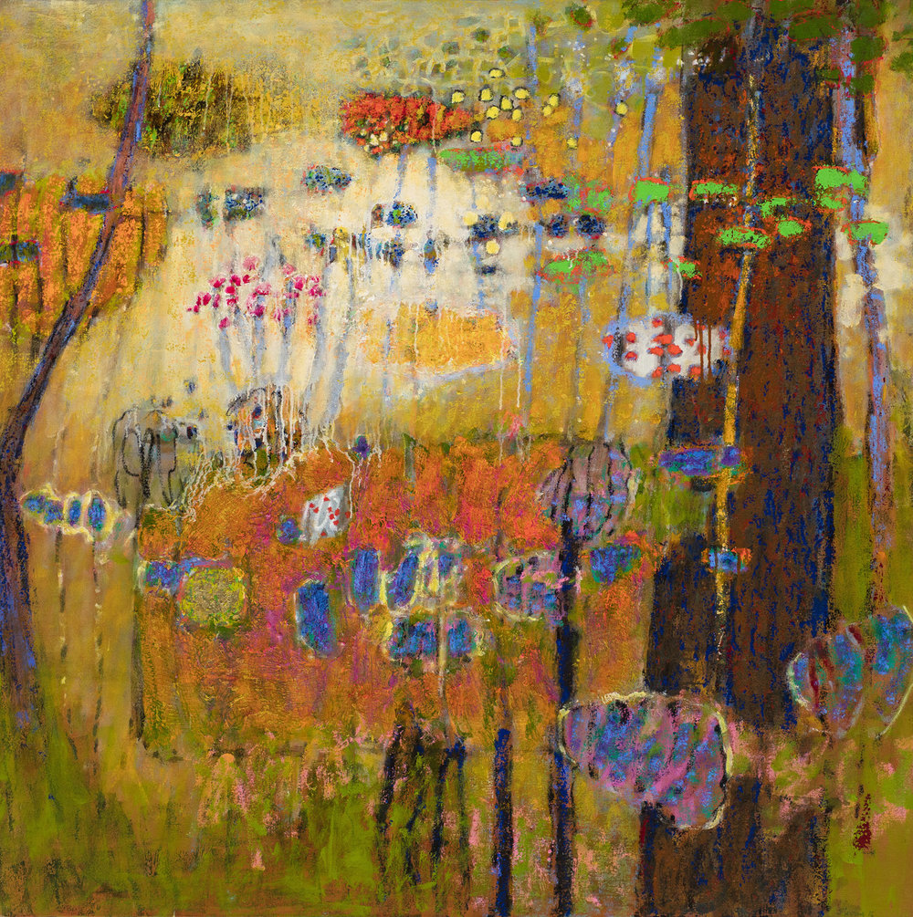 Materialism is an Assumption   | oil on canvas | 48 x 48"