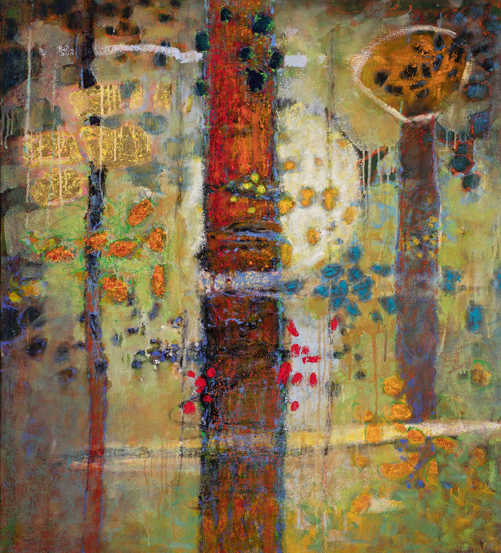 Luminous Entity   | oil on canvas | 40 x 36"