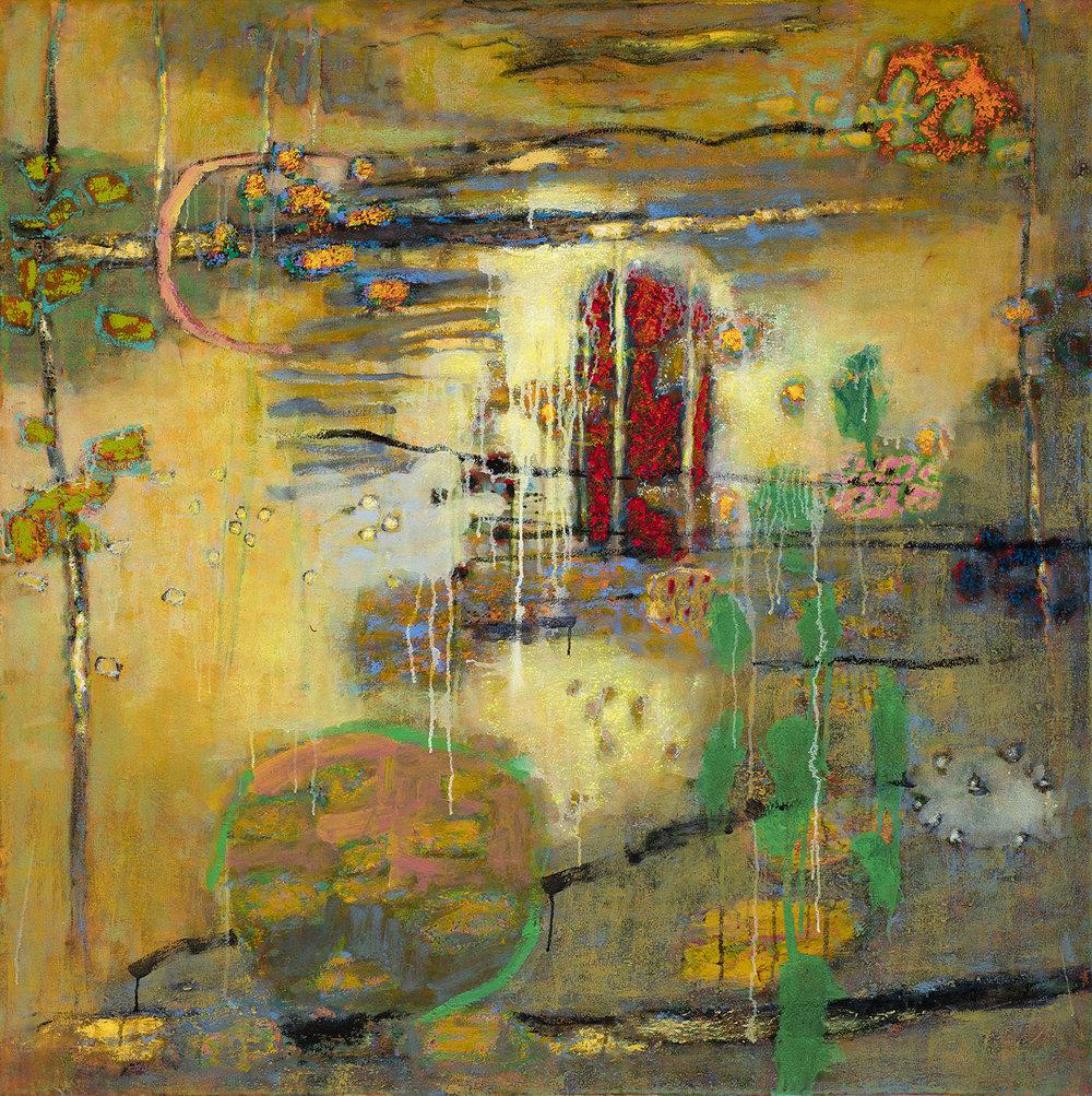 "Mystic Solitude   | oil on canvas | 48 x 48"" | 2016"