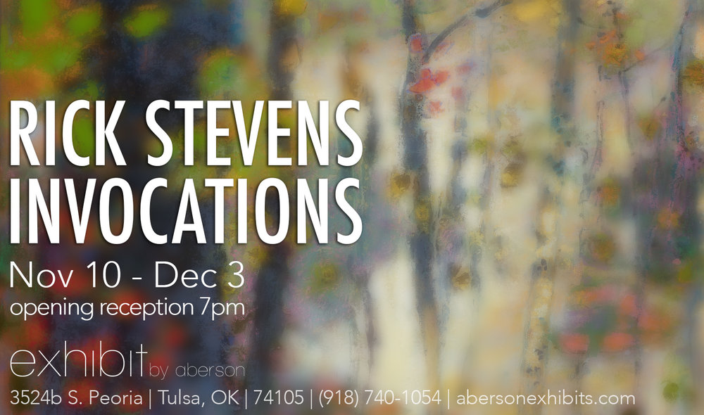 Invocations opens this Thursday at Exhibit by Aberson in Tulsa, OK