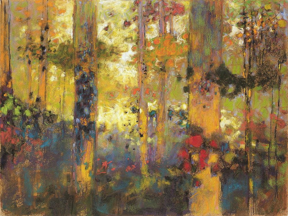 "112-09   | pastel on paper | 12 x 16"" | 2009"