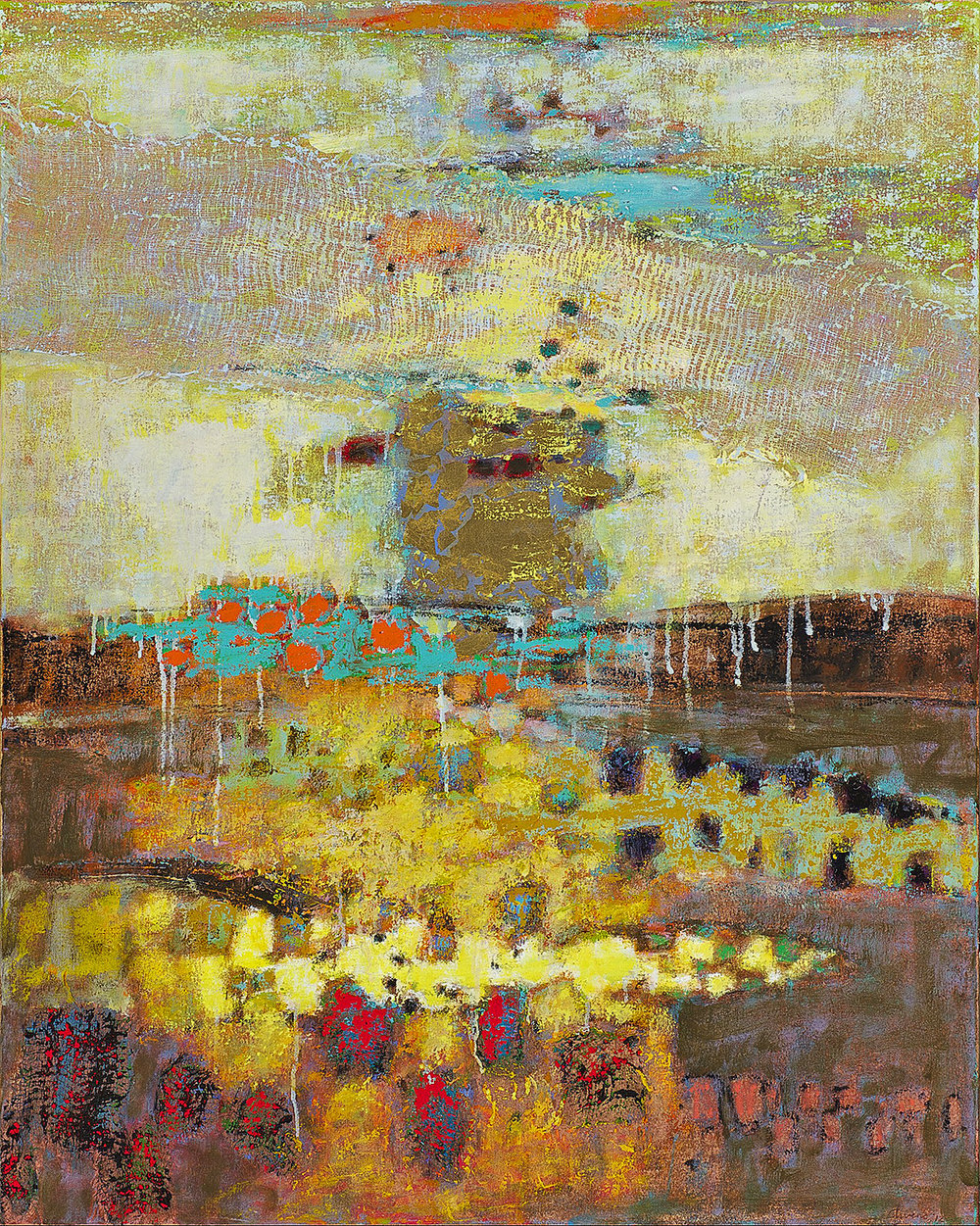 Weaving Worlds   | oil on canvas | 40 x 32"